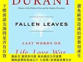二手書博民逛書店Fallen罕見LeavesY256260 Will Durant Simon & Schuster