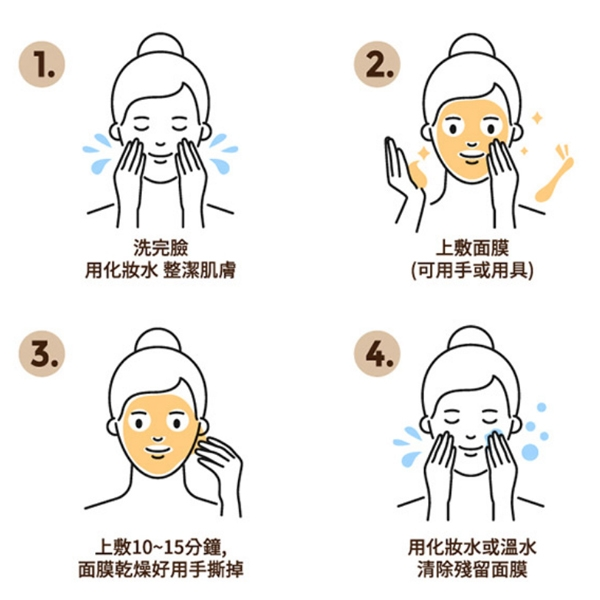 韓國 Nature Face 24K膠原蛋白黃金撕拉面膜 100g【小紅帽美妝】
