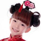 UNICO 兒童 俏皮中國風流蘇格格造型頭飾/髮夾