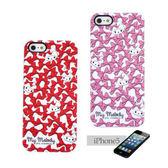 《Sanrio》美樂蒂緞帶蝴蝶結 iPhone5保護殼★funbox生活用品★_GD71982.GD71983