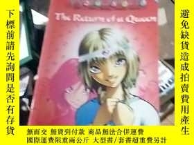 二手書博民逛書店the罕見rcturn of a queenY15389
