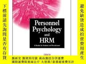 二手書博民逛書店Personnel罕見Psychology and Human Resources Management: A R