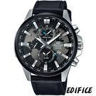 卡西歐 CASIO EDFICE 簡約三眼計時腕錶 EFR-303L-1A