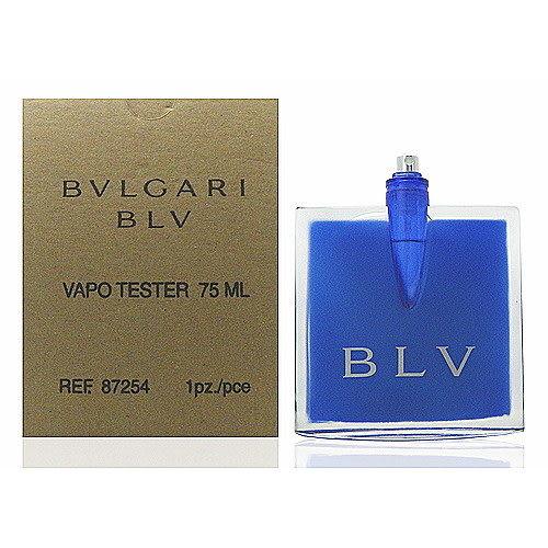Bvlgari BLV 藍茶女性淡香精 75ml Test 包裝