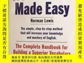 二手書博民逛書店詞彙的力量罕見英文原版 單詞的力量 Word Power Mad