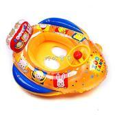 嬰兒游泳圈 卡通加厚寶寶坐圈游泳圈兒童座圈防爆浮圈嬰兒幼兒小孩救生圈3歲6 珍妮寶貝