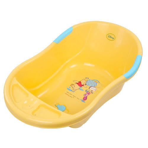【奇買親子購物網】迪士尼Pooh維尼熊浴盆
