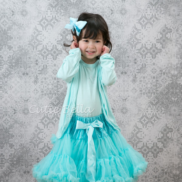 Cutie Bella蓬蓬裙Aqua Mint,90/110CM