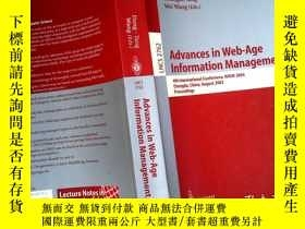 二手書博民逛書店Raus罕見in die Advances in Web-Age Information Management
