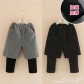 兒童褲裙寶寶打底褲冬裝新款女童童裝兒童加絨加厚長褲裙褲子kz-a623 限時特惠