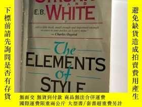 二手書博民逛書店The罕見elements of style fourth ed