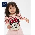 Gap女嬰兒童趣迪士尼圓領針織上衣525787-米白色