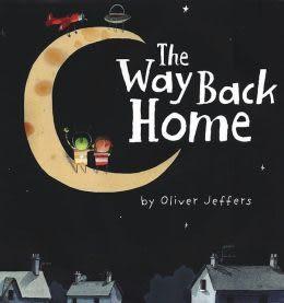 【麥克書店】THE WAY BACK HOME /英文繪本附CD《主題: 想像.幫助》
