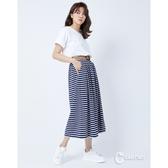 CANTWO熱情仲夏拼接條紋洋裝-二色