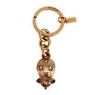 COACH 金屬水晶鑰匙圈吊飾(古銅金)198388-4