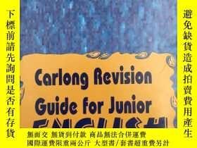 二手書博民逛書店Carlong罕見Revision Guide for Juni