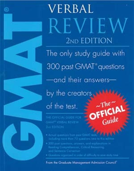 (二手書)The Official Guide for GMAT Verbal Review 2/e
