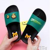 兒童拖鞋 兒童拖鞋夏季男女拖鞋大中小童男童女童小孩拖鞋一家人親子居家鞋 童趣屋