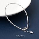 925純銀手鍊 極致甜美典雅 素素圓型珠...