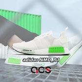 ~六折 ~adidas 休閒鞋NMD_R1 白綠金男鞋女鞋Boost 中底  鞋~ACS