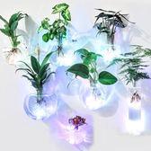 壁掛綠蘿水培花瓶創意迷你玻璃小花瓶懸掛透明簡約小清新插花花瓶 wy 限時八折鉅惠 明天結束!