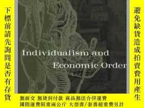 二手書博民逛書店哈耶克:個人主義和經濟秩序罕見英文原版 Individualism and Economic Order F. A