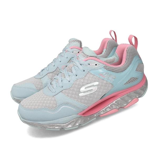 Skechers 慢跑鞋 SRR Pro-Resistance-Runaway 灰 藍 女鞋 運動鞋 【PUMP306】 88888338LGLB