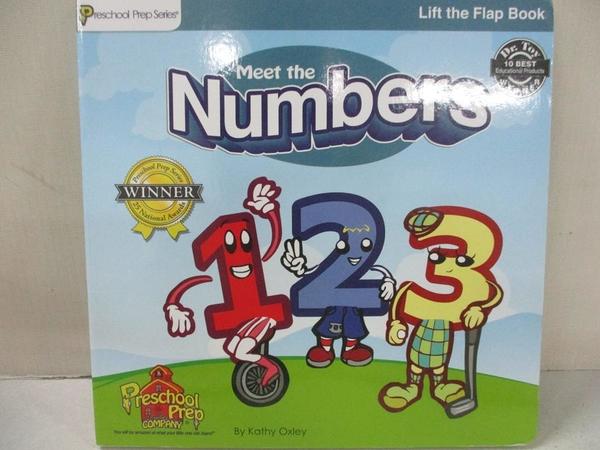 【書寶二手書T1/兒童文學_EAG】Meet the Numbers, 1, 2, 3