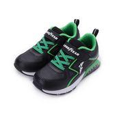 GOODYEAR 隨性酷跑KPU慢跑鞋 黑綠 GAKR88235 大童鞋 鞋全家福