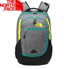 【The North Face 27L  15吋電腦背包 鋅灰/硫黃綠】 NF00CHJ8/電腦包/後背包★滿額送