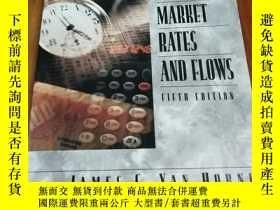 二手書博民逛書店Financial罕見Market Rates and Flow