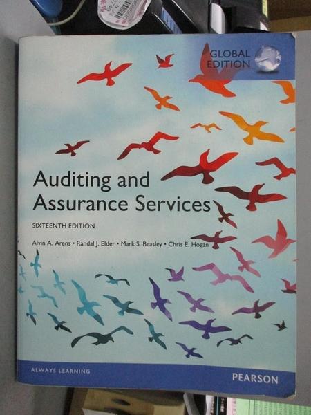【書寶二手書T1/大學商學_WFQ】Auditing and Assurance Services(16版)_Alvin