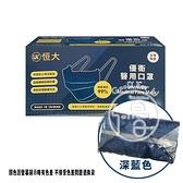 恒大優衛 醫用 口罩(深海藍) 50入/盒【i -優】醫療 口罩 醫藥口罩