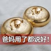 湯婆子 湯婆子純銅加厚復古風老式注熱水袋禮品暖手寶被窩湯婆婆燙捂子  雙十二