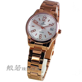 SIGMA 數字時尚鋼帶腕錶女款 大-玫瑰金