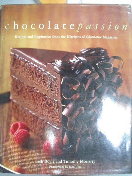 【書寶二手書T1/餐飲_XEL】Chocolate Passion: Recipes and Inspiration…