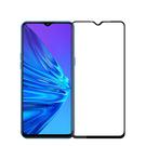 OPPO 鋼化玻璃膜 Realme5/5Pro/6i/C3/C21 滿版彩色全覆蓋鋼化玻璃膜 手機螢幕貼膜