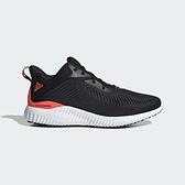Adidas Alphabounce EK 男款 黑橘色 專業訓練 運動慢跑鞋 GY5402【KAORACER】
