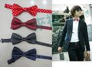 來福妹,新款型男四色點點小領結可搭配襯衫T恤兒童也可用,直購價69元,現+預7-10
