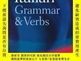 二手書博民逛書店Oxford罕見Italian Grammar And Verb