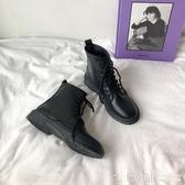 馬丁靴女韓版百搭短靴秋季新款小皮靴機車帥氣顯瘦