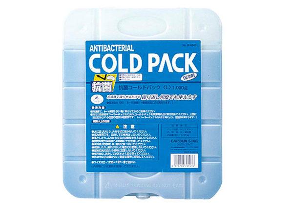 丹大戶外【Captain Stag】日本鹿牌 抗菌冷媒(L) 冰磚/冷媒/冷凍磚 M-9503