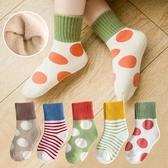 兒童襪子純棉秋冬季加厚毛圈嬰兒寶寶中筒男童女童小童襪春秋薄款 喵小姐