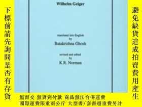 二手書博民逛書店A罕見Pali GrammarY256260 Wilhelm Geiger Pali Text Society