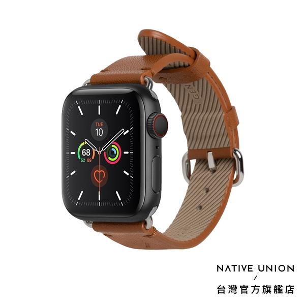 【NATIVE UNION】Apple Watch Strap 經典皮革錶帶 - 經典棕
