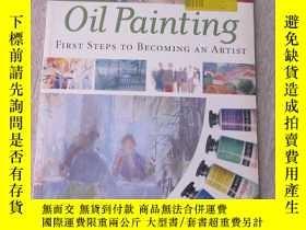 二手書博民逛書店Oil罕見Painting First Steps to Bec