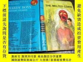 二手書博民逛書店英法德意等外文原版罕見THE MELTED COINS 1970年 32開硬精裝Y274511 Frankli