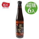 【南紡購物中心】【龍宏】頂級黑豆油膏 420mlX6入(箱購)