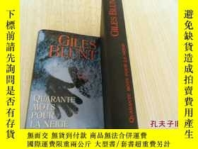 二手書博民逛書店法文原版罕見精裝 Quarante mots pour la neige by Blunt GilesY721