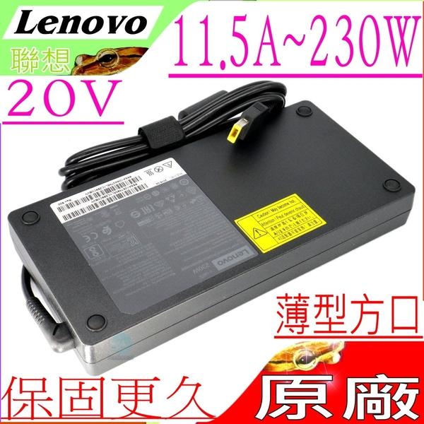 LENOVO 20V 11.5A 變壓器(原廠薄型)-230W,Y740,Y7000,Y7000P,Y7000SE,Y900,Y910,Y920,Y9000K,SA10R16890